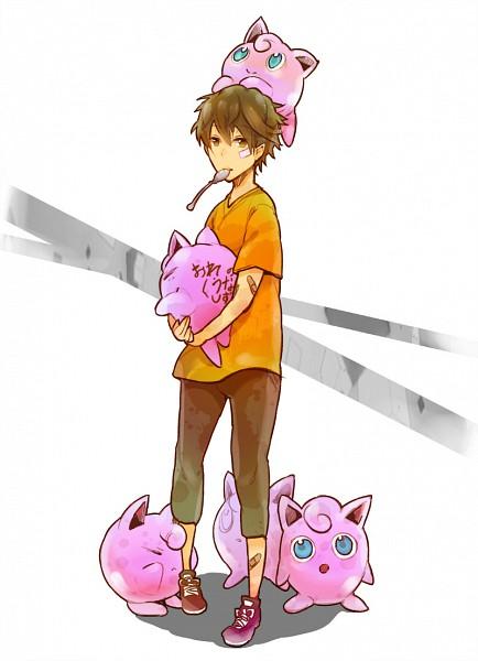 Tags: Anime, DURARARA!!, Pokémon, Heiwajima Shizuo, Jigglypuff, Mobile Wallpaper
