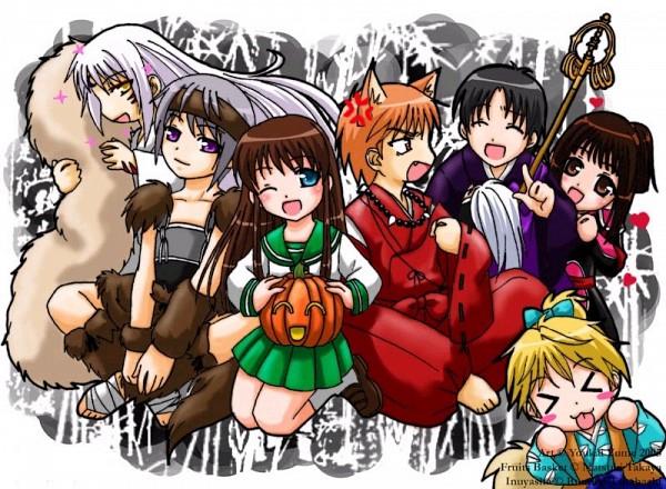 Tags: Anime, Fruits Basket, Sohma Ayame, Sohma Momiji, Sohma Kyo, Sohma Shigure, Sohma Yuki, Sohma Hiro, Honda Tohru, InuYasha (Character) (Cosplay), Shippo (Cosplay), Higurashi Kagome (Cosplay), Sango (cosplay)