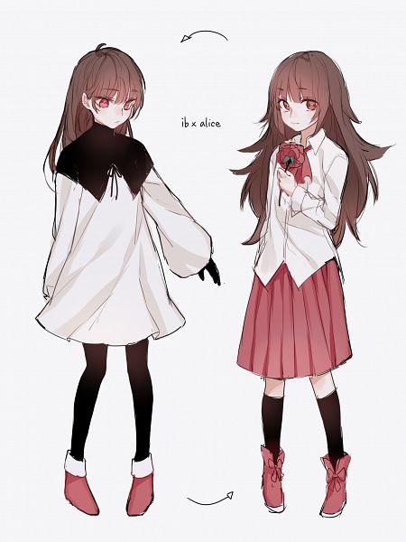 Tags: Anime, Kaag, Deemo, Ib, Alice (Deemo), Ib (Character), Characteristic Connection, Ib (Character) (Cosplay), Alice (Deemo) (Cosplay), Fanart From Pixiv, Pixiv, Fanart