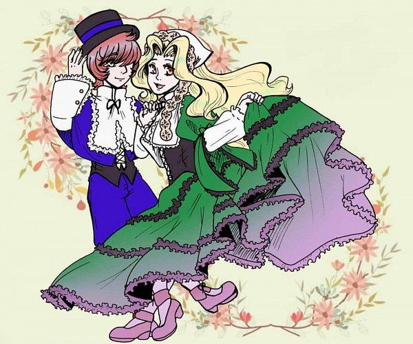 Tags: Anime, ClassicaLoid, Liszt (Classicaloid), Chopin (Classicaloid), Suiseiseki (Cosplay), Souseiseki (Cosplay), Rozen Maiden (Parody)