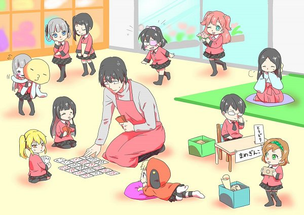 Tags: Anime, Tsutsujirikyou, Kakegurui, Saotome Mary, Momobami Ririka, Nishinotouin Yuriko, Jabami Yumeko, Momobami Kirari, Sumeragi Itsuki, Igarashi Sayaka, Ikishima Midari, Manyuda Kaede, Yomotsuki Runa
