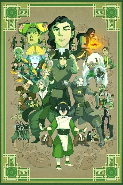 Tags: Anime, Avatar: The Legend of Korra, Avatar: The Last Airbender, Baatar, Teo (Avatar), Jet (Avatar: The Last Airbender), Lin Bei Fong, Aiwei, Bolin, Prince Wu, Bosco, Joo Dee, Hou-ting