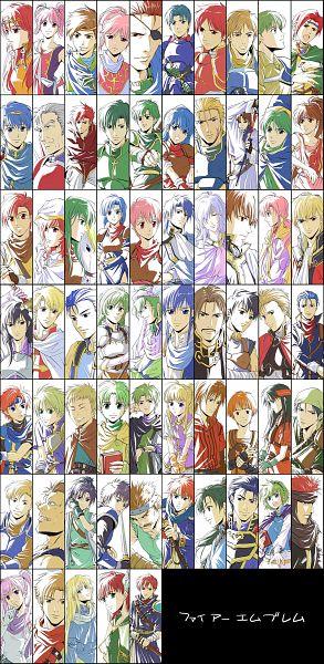 Tags: Anime, Agahari, Fire Emblem: Monshou no Nazo, Fire Emblem: Seisen no Keifu, Fire Emblem: Fuuin no Tsurugi, Fire Emblem Gaiden, Rena (Fire Emblem), Savor (Fire Emblem), Siglud (Fire Emblem), Jenny (Fire Emblem), Est (Fire Emblem), Wolt, Sheeda (Fire Emblem)
