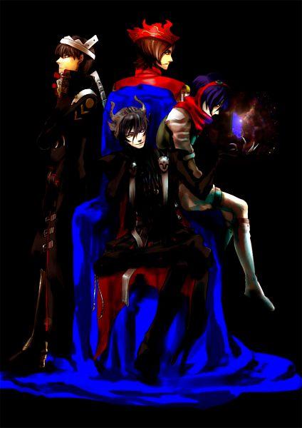 Tags: Anime, San Moto, Shin Megami Tensei: Persona, SHIN MEGAMI TENSEI: PERSONA 2, Shin Megami Tensei: PERSONA 4, Shin Megami Tensei: PERSONA 3, Naoya Toudou, Narukami Yu, Suou Tatsuya, Yuuki Makoto (PERSONA 3), Izanagi (Cosplay), Mobile Wallpaper