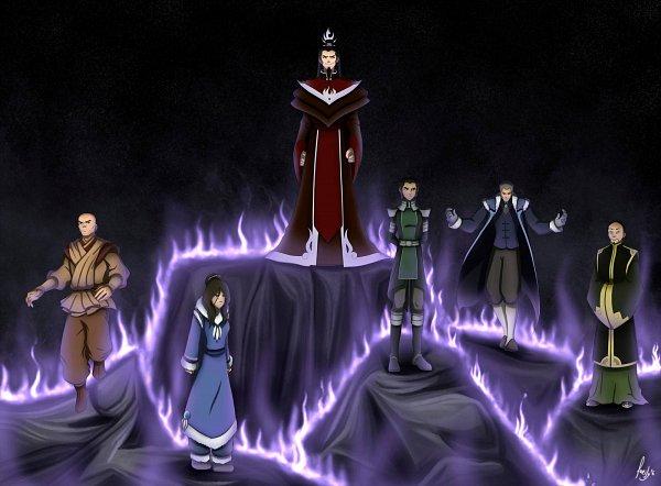Tags: Anime, Laeity, Avatar: The Legend of Korra, Avatar: The Last Airbender, Long Feng, Zaheer, Kuvira, Ozai, Yakone, Hama (Avatar), Teenager, Aura, deviantART