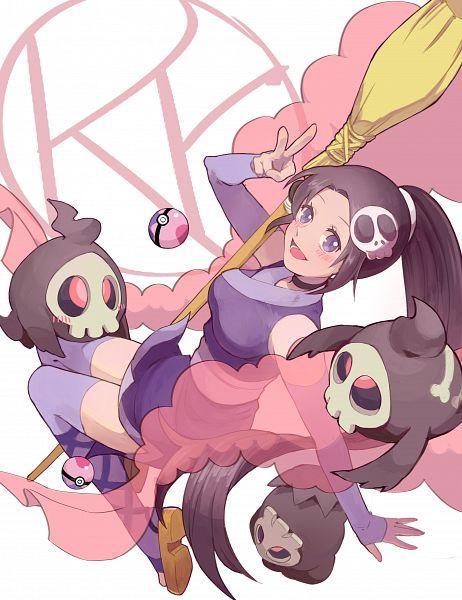 Tags: Anime, Rutiwa, Kami nomi zo Shiru Sekai, Pokémon, Duskull, Elsea de Lute Irma, Pixiv, Fanart