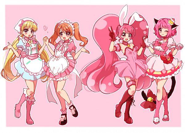 Tags: Anime, Pixiv Id 356388, Tokyo Mew Mew, Kirakira☆Precure a la Mode, Cure Whip, Shirayuki Berry, Momomiya Ichigo, Mew Ichigo, Usami Ichika, Shirayuki Berry (Cosplay), Usami Ichika (Cosplay), Cure Whip (Cosplay), Mew Ichigo (Cosplay)
