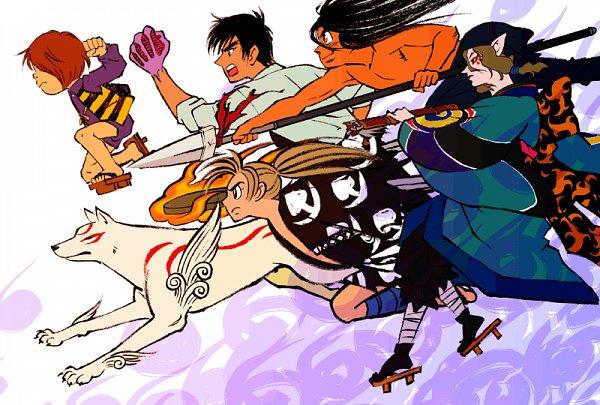 Tags: Anime, Citron619077, Jigoku Sensei Nube, Dororo (Manga), GeGeGe no Kitarou, Mononoke, Ushio to Tora, Okami, Aotsuki Ushio, Kitarou, Kusuriuri, Nueno Meisuke, Hyakkimaru (Dororo)