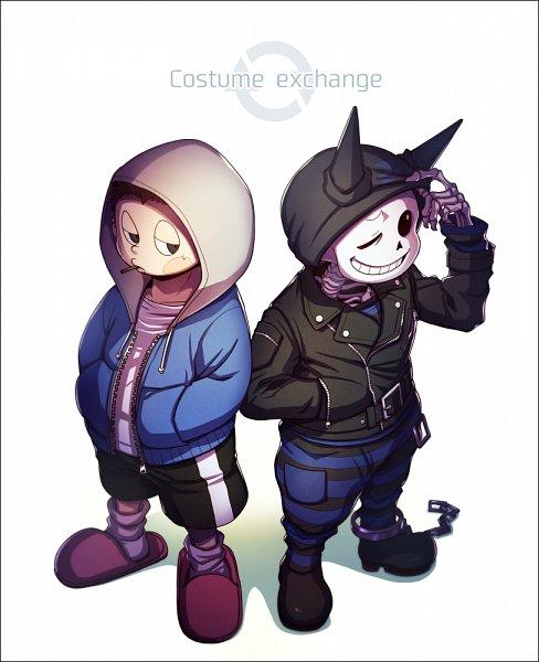 Tags: Anime, Undertale, New Danganronpa V3, Hoshi Ryouma, Sans, Hoshi Ryouma (Cosplay), Sans (Cosplay), Tumblr, Artist Request