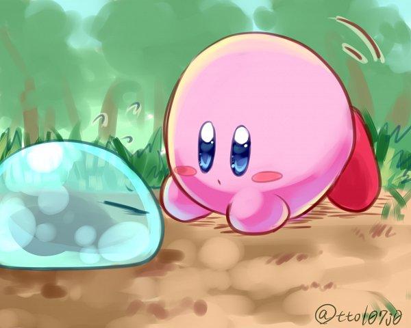 Tags: Anime, Pixiv Id 4125103, Tensei Shitara Slime Datta Ken, Kirby Series, Kirby, Rimuru Tempest