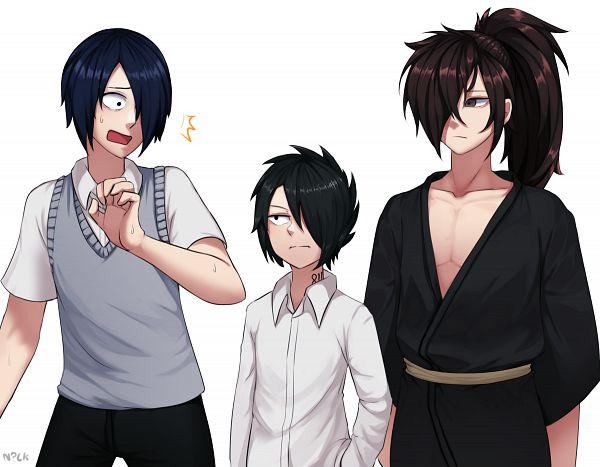 Tags: Anime, Pixiv Id 9699709, Yakusoku no Neverland, Kaguya-sama wa Kokurasetai, Dororo (Manga), Hyakkimaru (Dororo), Ishigami Yuu, Ray (Yakusoku no Neverland), Characteristic Connection