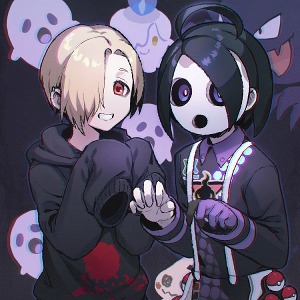 Tags: Anime, Apple Brk, Pokémon Red & Green, Black and White 2, Pokémon Sword & Shield, Pokémon Black & White, Pokémon, Haunter, Beat (Pokémon), Onion (Pokémon), Litwick, Character Request