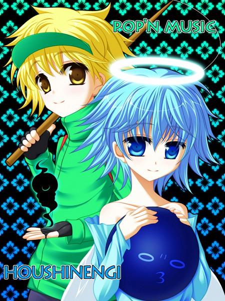 Tags: Anime, Maron (1212ama), KONAMI, Houshin Engi, Pop'n Music, Kajika, Fuugen Shinjin, Pixiv