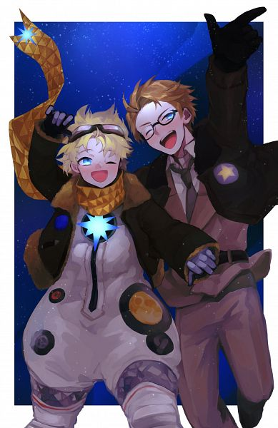Tags: Anime, Pixiv Id 43104776, Axis Powers: Hetalia, Fate/Grand Order, United States, Voyager (Fate/Requiem), Bomber Jacket