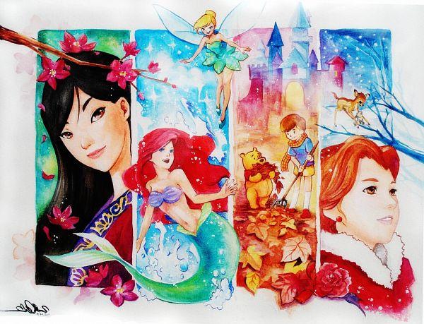 Tags: Anime, Zelda C. Wang, Tinker Bell (Disney), Beauty and the Beast, Peter Pan, Winnie the Pooh, Little Mermaid, Little Mermaid (Disney), Mulan, Bambi (Disney), Beauty and the Beast (Disney), Bambi, Tinkerbell (Peter Pan)