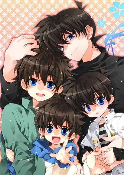 Tags: Anime, Toujou Sakana, Meitantei Conan, Magic Kaito, Kuroba Kaito, Kudou Shinichi, Fanart, Pixiv, Mobile Wallpaper