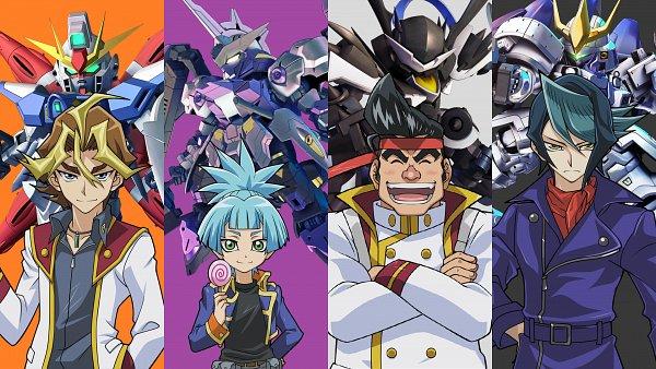 Tags: Anime, Mobile Suit Gundam Wing, Mobile Suit Gundam SEED, Mobile Suit Gundam 00, Kidou Senshi Gundam: Tekketsu no Orphans, SD Gundam G Generation, Yu-Gi-Oh!, Yu-Gi-Oh! ARC-V, Kurosaki Shun, Sawatari Shingo, Gongenzaka Noboru, ASW-G-66 Gundam Kimaris Vidar, Shiunin Sora