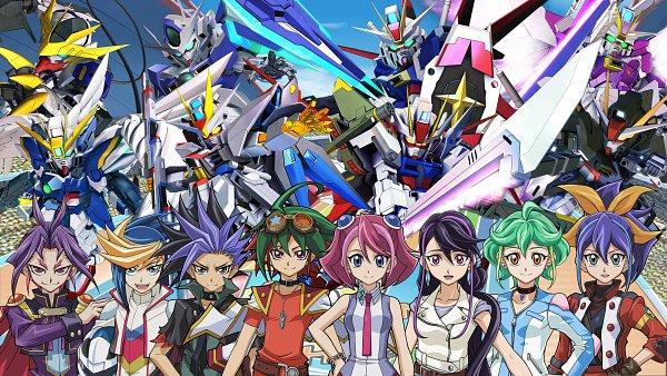 Tags: Anime, Mobile Suit Gundam SEED Destiny, Mobile Suit Gundam Seed C.e. 73: Stargazer, Kidou Senshi Gundam: Tekketsu no Orphans, Mobile Suit Gundam 00, Mobile Suit Gundam Wing, Mobile Suit Gundam Seed Destiny Msv, Mobile Suit Gundam SEED, SD Gundam G Generation, Yu-Gi-Oh! ARC-V, Yu-Gi-Oh!, Strike Gundam, Serena (Yu-Gi-Oh! ARC-V)
