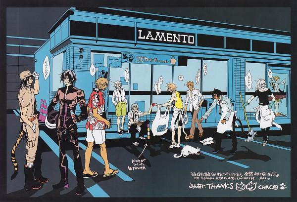 Tags: Anime, Nitro+CHiRAL, Chayamachi Chiral Works, Lamento, Togainu no Chi, Shiki (TNC), Bardo, Akira (TNC), Asato (Lamento), RAI, Nano (TNC), Konoe, Keisuke (TNC)