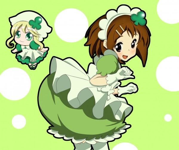 Tags: Anime, Shugo Chara!, K-ON!, Hirasawa Yui, Su (Shugo Chara!), Fanart