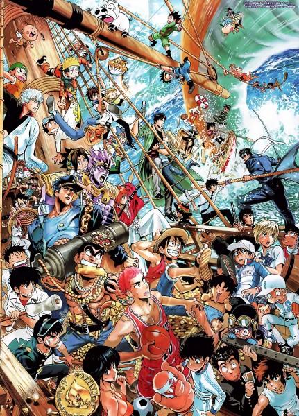 Tags: Anime, Murata Yuusuke, Toei Animation, Dr.Slump, Meitantei Conan, City Hunter, Gintama, Captain Tsubasa, Rurouni Kenshin, Hunter x Hunter, Katekyo Hitman REBORN!, Ichigo 100%, Black Cat (Series)