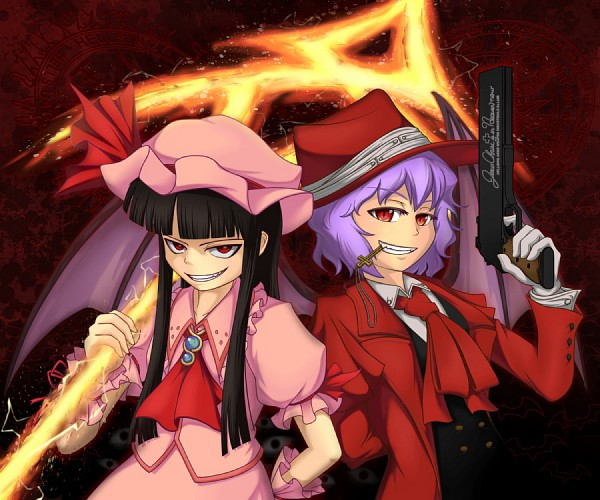 Tags: Anime, Pixiv Id 201962, Geneon Pioneer, HELLSING, Touhou, Remilia Scarlet, Alucard (Hellsing) (Female), Alucard (Hellsing), Spear the Gungnir, Alucard (Hellsing) (Cosplay), Touhou (Cosplay), Remilia Scarlet (Cosplay), Fanart
