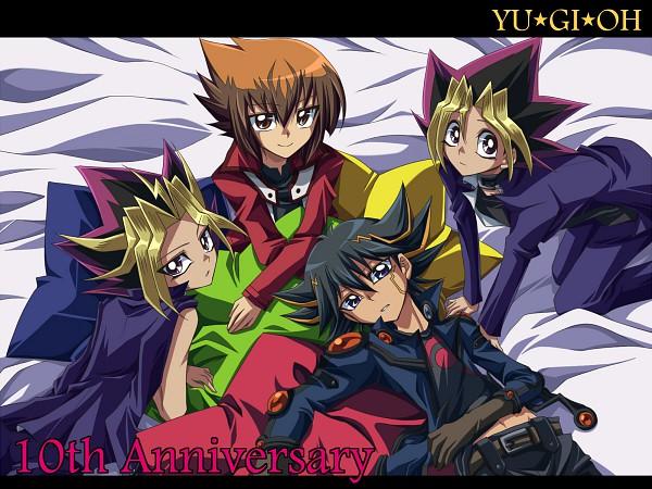 Tags: Anime, Yu-Gi-Oh!, Yu-Gi-Oh! GX, Yu-Gi-Oh! 5D's, Yu-Gi-Oh! Duel Monsters, Yami Yugi, Yusei Fudo, Mutou Yuugi, Juudai Yuuki, Wallpaper