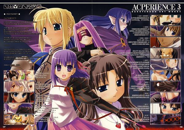 Tags: Anime, Bakutendo, TYPE-MOON, Acperience 3, Mahou Tsukai no Yoru, Fate/stay night, Leysritt, Berserker (Fate/stay night), Saber (Fate/stay night), Sella, Matou Sakura, Tohsaka Rin, Rider (Fate/stay night)