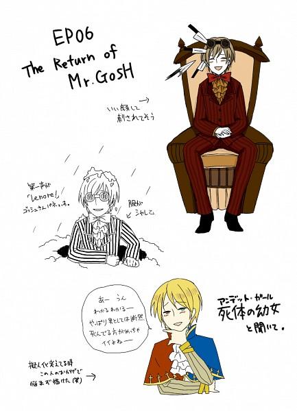Tags: Anime, mairu, Lenore: The Cute Little Dead Girl, Mr. Gosh, Run Through, Märchen, Pixiv, Sound Horizon