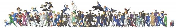 Tags: Anime, Urayama, Air Gear, Ghost Hound, Slam Dunk, xxxHOLiC, JoJo no Kimyou na Bouken, School Rumble, Shoujo Kakumei Utena, Tennis no Ouji-sama, Yu Yu Hakusho, Urusei Yatsura, Katekyo Hitman REBORN!