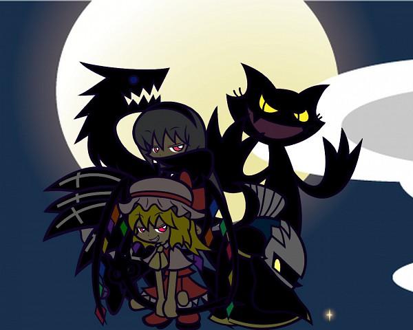 Tags: Anime, Y&K, Rozen Maiden, Puyo Puyo, Touhou, Kirby Series, Popoi (Puyo Puyo), Flandre Scarlet, Meta Knight, Suigintou, Black Popoi, PSG Character Design