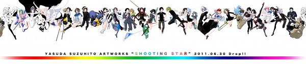Tags: Anime, Suzuhito Yasuda, Yozakura Quartet, DURARARA!!, Kamisama Kazoku, Yarizakura Hime, Kishitani Shinra, Sonohara Anri, Kamiyama Tenko, Sturluson Celty, Kida Masaomi, Ryuugamine Mikado, Komori Kumiko