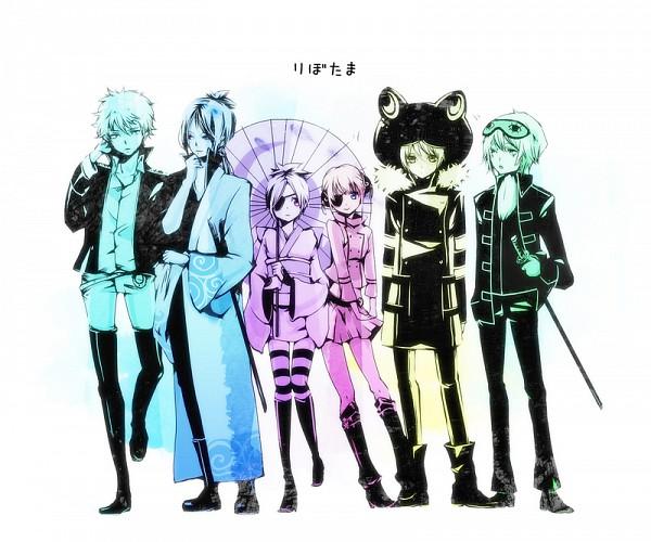 Tags: Anime, Yu-kichi, Katekyo Hitman REBORN!, Gintama, Sakata Gintoki, Kagura (Gin Tama), Rokudou Mukuro, Chrome Dokuro, Fran, Okita Sougo, Fran (Cosplay), Sleep Mask, Sakata Gintoki (Cosplay)