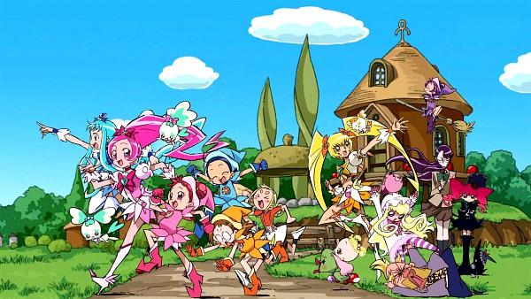 Tags: Anime, Umakoshi Yoshihiko, Toei Animation, Heartcatch Precure!, Ojamajo DoReMi, Marie & Gali, Makihatayama Hana, Senoo Aiko, Cure Blossom, Tsukikage Yuri, Kuma (Marie & Gali), Asuka Momoko, Coffret