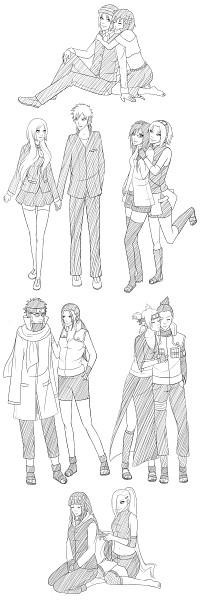 Tags: Anime, Zaaee, NARUTO, BLEACH, Aburame Shino, Nara Shikamaru, Kurosaki Ichigo, Karin (NARUTO), Hyuuga Hinata, Temari (NARUTO), Inoue Orihime, Yamanaka Ino, Haruno Sakura
