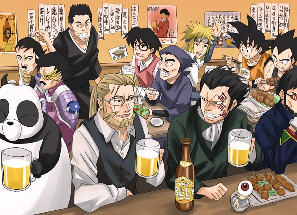 Tags: Anime, Toei Animation, SQUARE ENIX, Ranma ½, Neon Genesis Evangelion, ONE PIECE, Fullmetal Alchemist, Dragon Quest: Dai no Daibouken, Gintama, DRAGON BALL, Pandora Hearts, Rakudai Ninja Rantarou, NARUTO