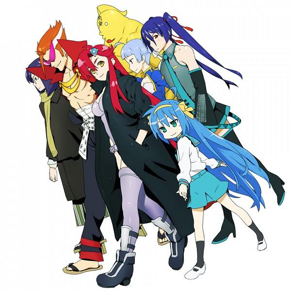Tags: Anime, Lucky☆Star, Suzumiya Haruhi no Yuuutsu, Tengen Toppa Gurren-Lagann, Kannagi: Crazy Shrine Maidens, So Ra No Wo To, Mobile Suit Gundam 00, 2x2 = Shinobuden, Macross Frontier, Onsokumaru, Yoko Littner, Izumi Konata, Tachikoma