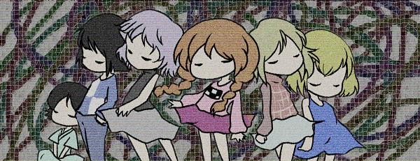 Tags: Anime, Pixiv Id 2037677, Yume 2kki, Yume Nisshi, Inspiration, .flow, Yume Nikki, Urotsuki, Madotsuki, Alex (Inspiration), Sabitsuki, Usotsuki, Facebook Cover