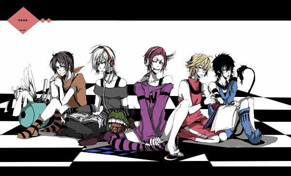 Tags: Anime, Cako., Bakuman。, Ao no Exorcist, To Aru Majutsu no Index, TIGER & BUNNY, Niizuma Eiji, Okumura Rin, Ivan Karelin, Accelerator, Pixiv, Wallpaper, Fanart