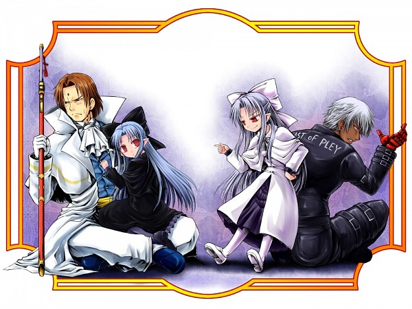 Tags: Anime, Imai Nyuu, French-Bread (Studio), Last Blade, The King of Fighters, Melty Blood, MUGEN, K'