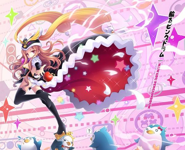 Tags: Anime, Syaron, Mawaru Penguindrum, Yondemasuyo Azazel-san, Penguin No.1, Takakura Himari, Princess of the Crystal, Penguin No.3, Beelzebub (Yondemasuyo Azazel-san), Penguin No.2