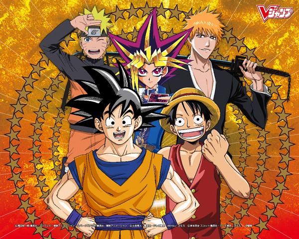 Tags: Anime, Studio Gallop, Toei Animation, Studio Pierrot, Yu-Gi-Oh! Season Zero, DRAGON BALL, ONE PIECE, BLEACH, Yu-Gi-Oh!, Yu-Gi-Oh! Duel Monsters, NARUTO, Son Goku (DRAGON BALL), Uzumaki Naruto