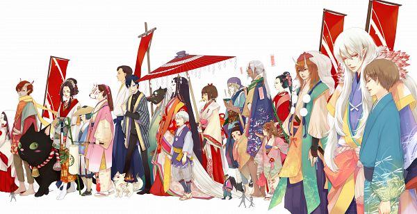 Tags: Anime, CHM, xxxHOLiC, Natsume Yuujinchou, Mononoke, InuYasha, Okami Den, Okami, Kusuriuri, Madara, Nyanko-sensei, Sesshoumaru, Chibiterasu