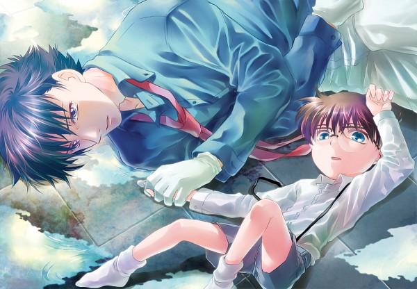 Tags: Anime, Azs, Meitantei Conan, Magic Kaito, Edogawa Conan, Kuroba Kaito, Fanart