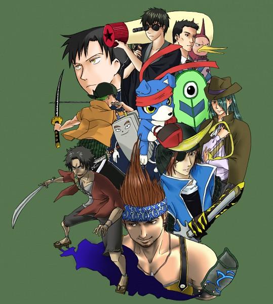 Tags: Anime, SQUARE ENIX, Gintama, Digimon Savers, Samurai Champloo, DEATH NOTE, xxxHOLiC, ONE PIECE, Final Fantasy X, Sengoku Basara, Roronoa Zoro, Gaomon, Date Masamune (Sengoku Basara)