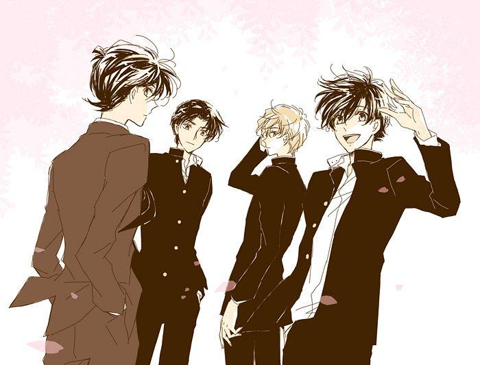 Tags: Anime, Sagari24, Meitantei Conan, Magic Kaito, Kudou Shinichi, Hakuba Saguru, Kuroba Kaito, Hattori Heiji, Fanart, Pixiv