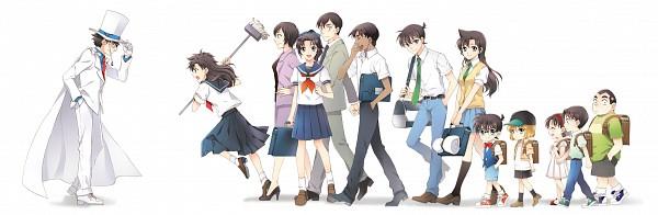Tags: Anime, MonicA (Artist), Meitantei Conan, Magic Kaito, Kojima Genta, Takagi Wataru, Kudou Shinichi, Yoshida Ayumi, Kuroba Kaito, Kaitou Kid, Touyama Kazuha, Hattori Heiji, Mouri Ran