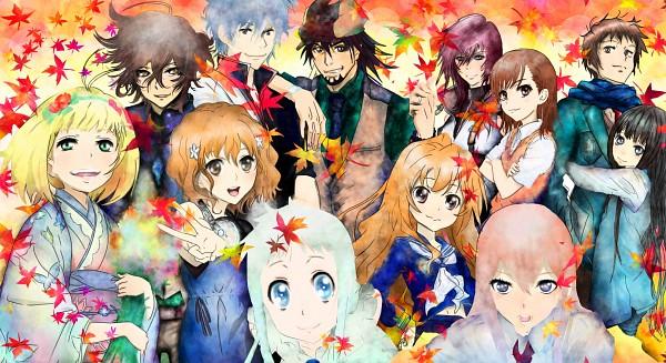Tags: Anime, Pixiv Id 2204030, Ao no Exorcist, Suzumiya Haruhi no Yuuutsu, Kimi ni Todoke, Ano Hi Mita Hana no Namae o Bokutachi wa Mada Shiranai., Gintama, Hanasaku Iroha, TIGER & BUNNY, Toradora!, Kami-sama no Memo-chou, To Aru Majutsu no Index, Final Fantasy XIII