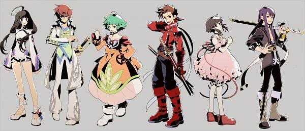 Tags: Anime, Ffel, Namco, Tales of Graces, Tales of Hearts, Tales of Destiny 2, Tales of Symphonia, Tales of Eternia, Tales of Vesperia, Asbel Lhant, Reala (TOD2), Kohak Hearts, Lloyd Irving