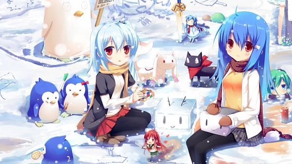 Tags: Anime, Liong, TYPE-MOON, Cube x Cursed x Curious, Ano Hi Mita Hana no Namae o Bokutachi wa Mada Shiranai., Mawaru Penguindrum, Bili Bili Douga, Shakugan no Shana, Gintama, Shinryaku! Ikamusume, Nichijou, Mahou Shoujo Madoka☆Magica, VOCALOID